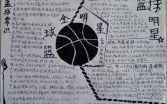 篮球手抄报创意
