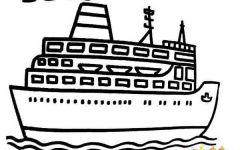 客船简笔画