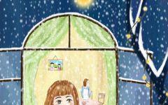 儿童窗户画