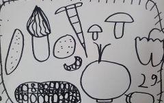菜园简笔画