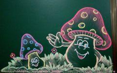 粉笔画气球