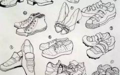 教我画鞋子