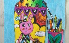 儿童画水壶