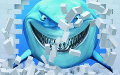 鲨鱼画3d