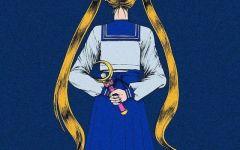 美少女战士背面图