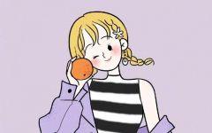 个性好看的女生卡通图