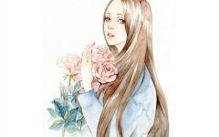 可爱的小仙女手绘图