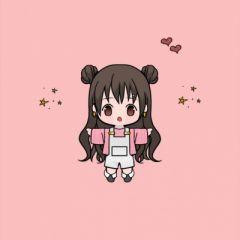 微信卡通小女孩头像 可爱超萌
