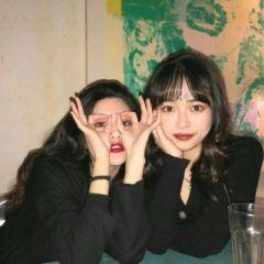 可爱软萌的微信女生头像 双人闺蜜头像