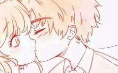 情侣头像 动漫情侣亲吻头像