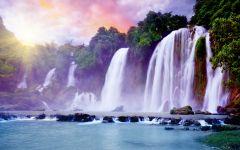 山水瀑布图片大全 最美瀑布图片大全