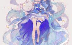 动漫图片女生仙气点的 仙气飘飘女生动漫头像