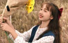 唯美意境女生头像带花 花朵意境唯美女生头像